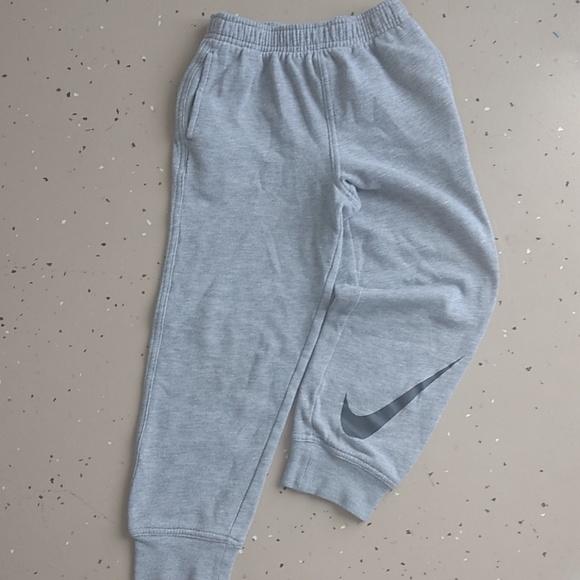 Nike Grey Sweatpants Boys size 7